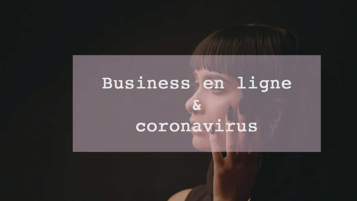 business en ligne et coronavirus