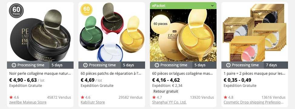 produits gagnant dropshipping patch gel